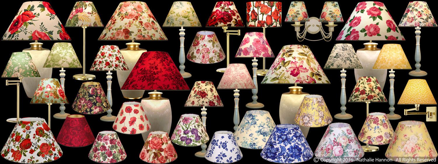 Lampshades Florals