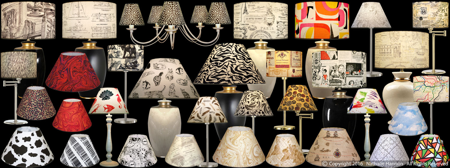 Lampshades Art-Deco - Misc.