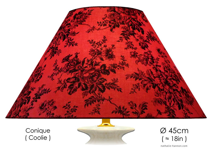 Lampshade Floral Impressions