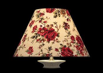 Lampshades Dark Florals