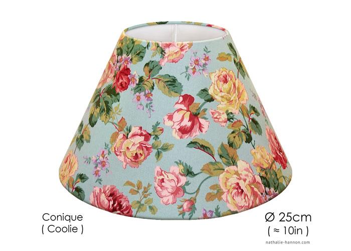 Lampshade Romantic Flowers