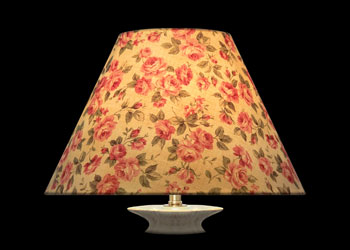 Lampshades Petites Roses Anciennes