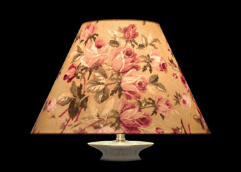 Lampshades Roses Anciennes