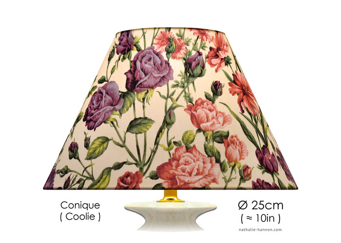 Lampshade Floral Stems