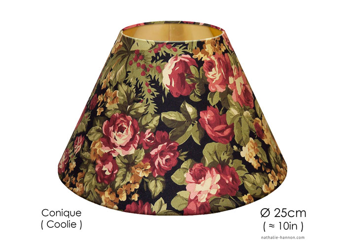 Lampshade Winter Floral