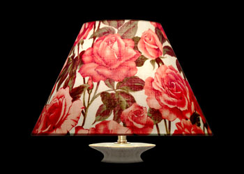 Lampshades Just Roses