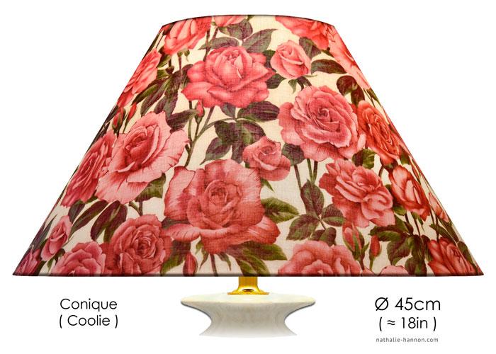 Lampshade Just Roses