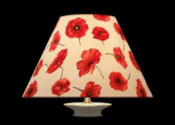 Lampshades Coquelicot