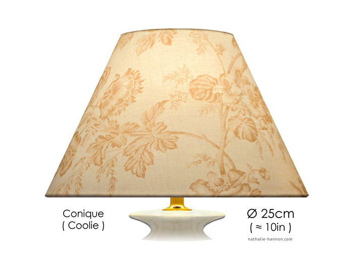 Lampshade Neutral Florals