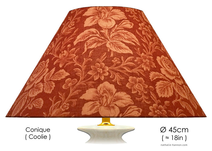 Lampshade Floral Art