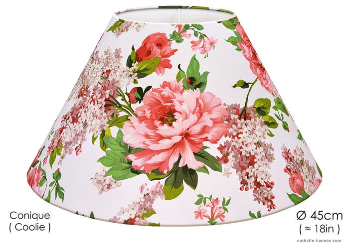 Lampshade Floral Garden