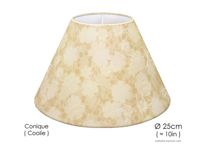 Lampshade Florals with Swirls