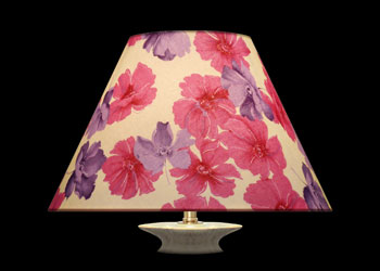 Lampshades Floral Pinks