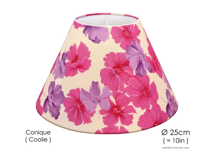Lampshade Floral Pinks