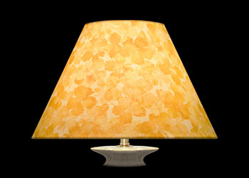 Lampshades Golden Florals