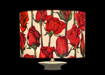 Lampshades Roses et Tiges