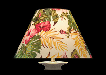 Lampshades Tropical Florals