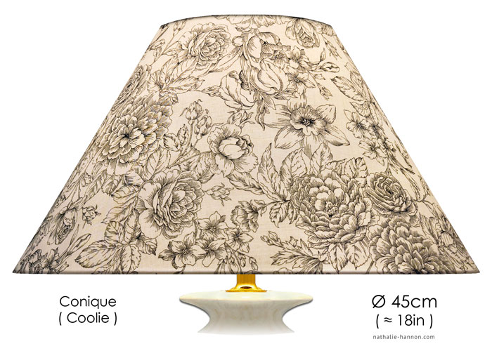 Lampshade Décor Floraux