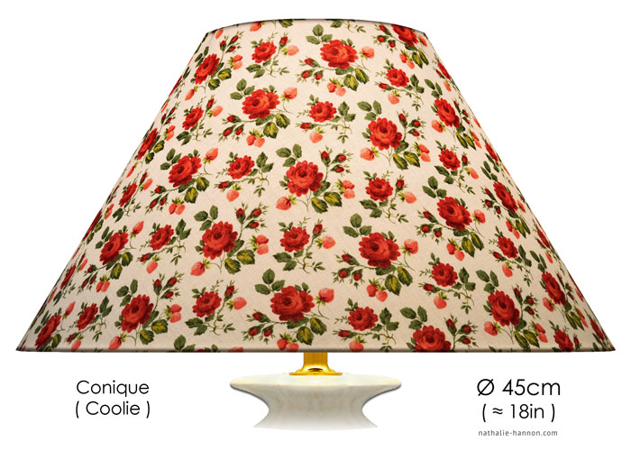 Lampshade Roses with Strawberries