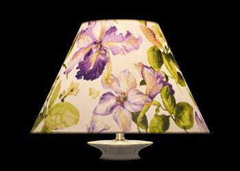Lampshades Fleurs de Lys
