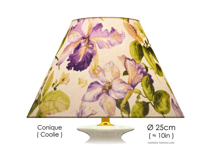 Lampshade Fleurs de Lys