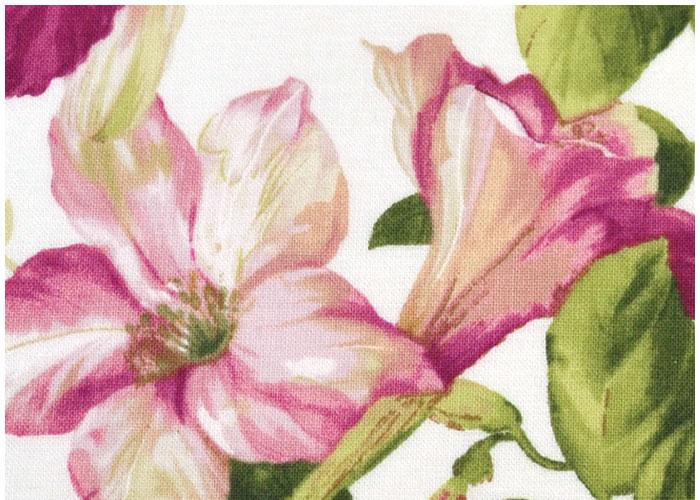 Abat-jour Fleurs de Lys