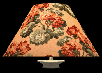 Lampshades Geraniums