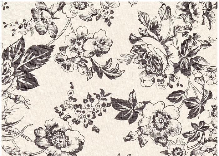 Abat-jour Gray Florals