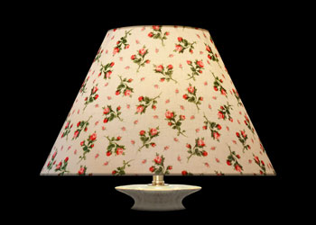 Lampshades Boutons de Rose