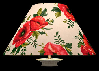 Lampshades Poppy Bouquet
