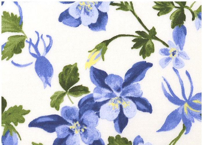 Abat-jour Ancolies Bleu
