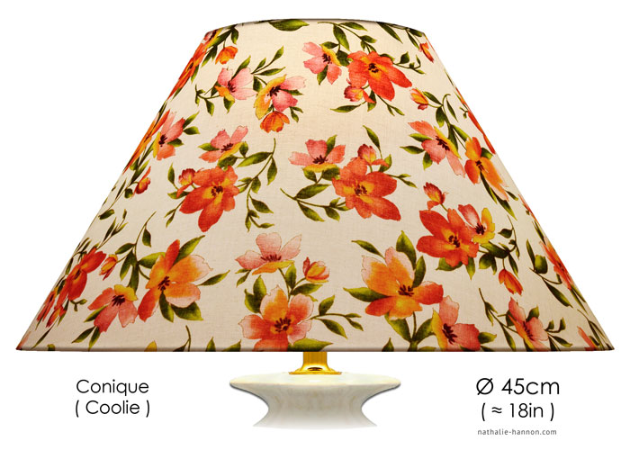 Lampshade Floral Blooms