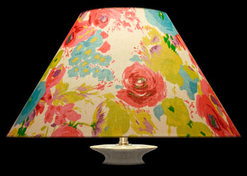 Lampshades Watercolor Floral