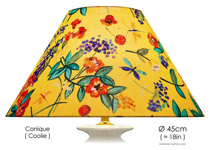 Lampshade Pop Art Flowers