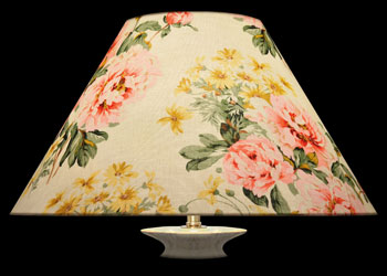 Lampshades Floral Yellow Decor
