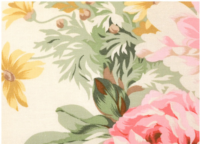 Lampshade Floral Yellow Decor