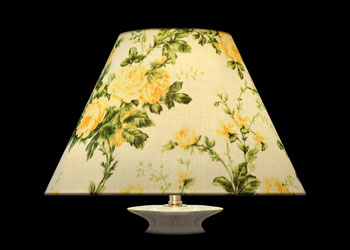 Lampshades Yellow Garden Roses