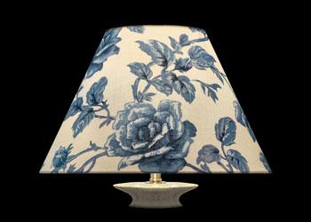 Abat-jour Blue Garden Roses
