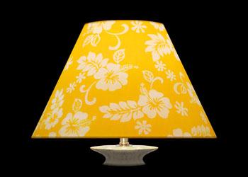 Lampshades Hibiscus Yellow