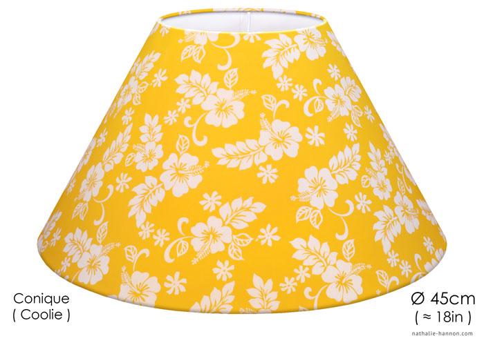 Lampshade Hibiscus Yellow