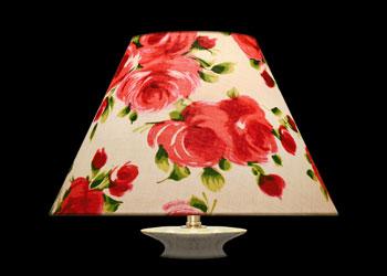 Lampshades Watercolor Roses