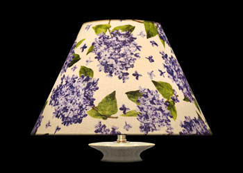 Lampshades Lilac Blooms
