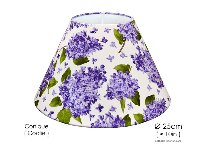 Lampshade Lilac Blooms