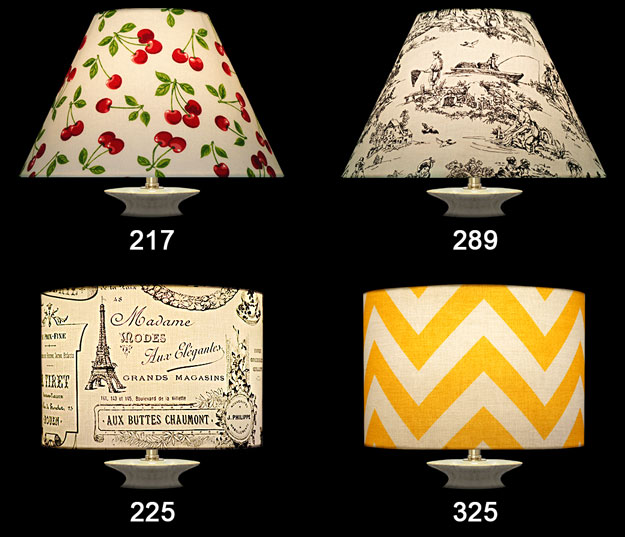 Nathalie Hannon Lampshades Fabrics