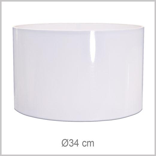Grand abat-jour forme Cylindrique avec fixation Européenne E27 pour douille Européenne standard