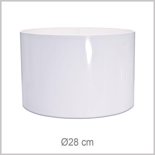 Moyen abat-jour forme Cylindrique avec fixation Européenne E27 pour douille Européenne standard