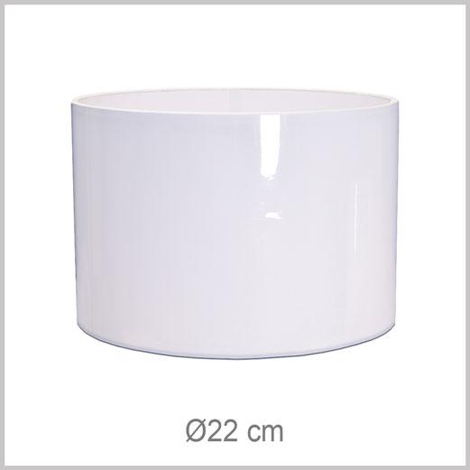 Petit abat-jour forme Cylindrique avec fixation Européenne E27 pour douille Européenne standard