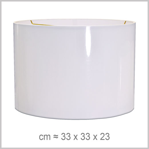 Large Cylinder shaped lampshade with an American spider fitter for harps
