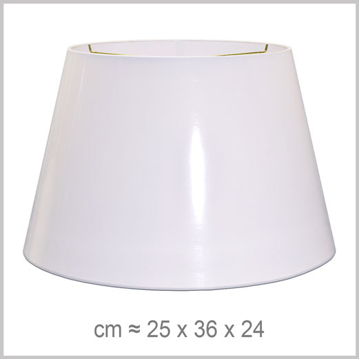Large Drum shaped lampshade with an American spider fitter for harps