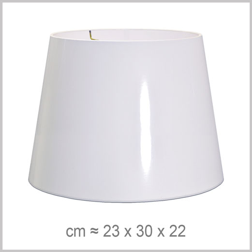 Medium Drum shaped lampshade with an American spider fitter for harps